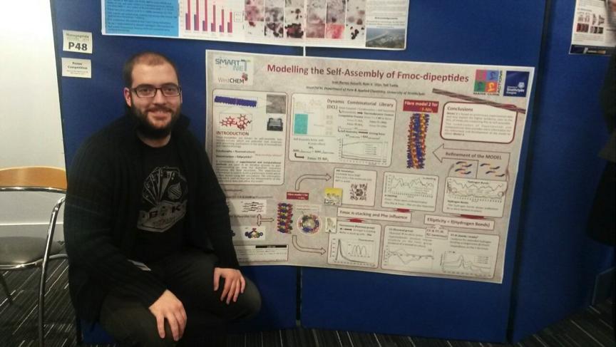 Ivan presenting at Nanopep '15