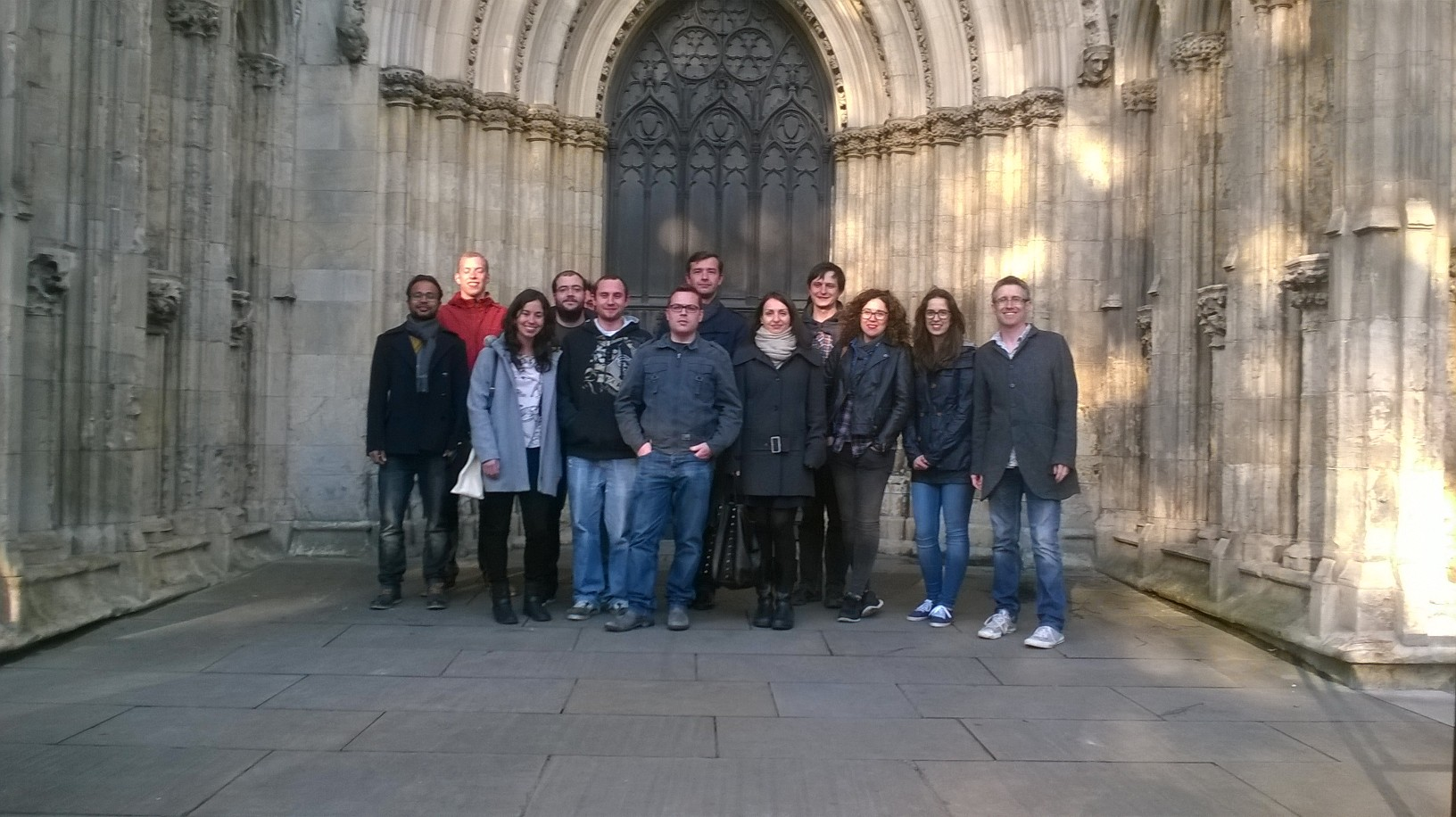 SMARTNET Students at York Cathedral